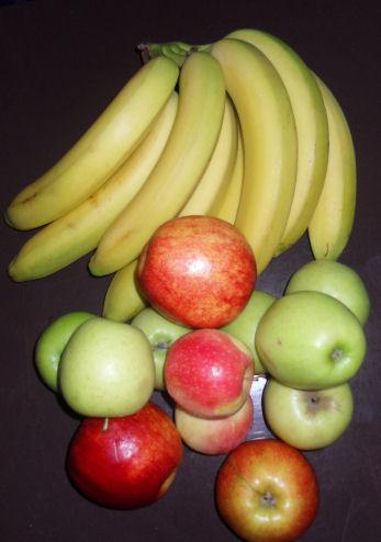 Confronto Mela Banana